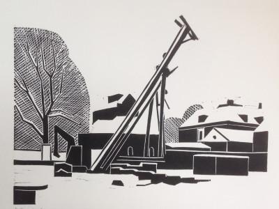 Thumbnail for Assen, Verbouwing van het Drents Museum