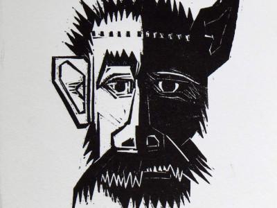 Thumbnail for Boekillustraties, Boelgakov, Hondehart